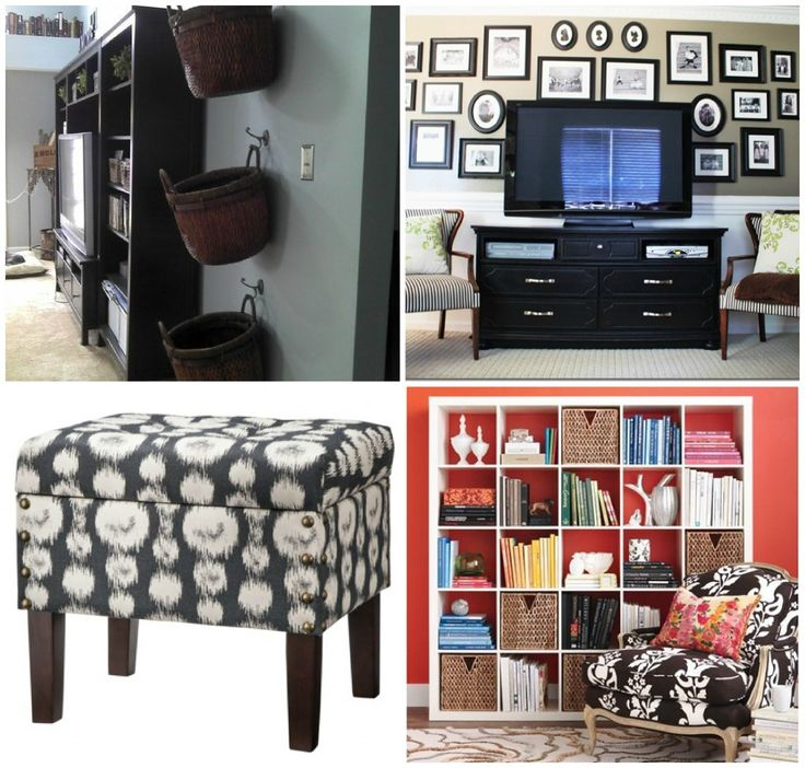 15 best Organizing {The Living Room} images on Pinterest