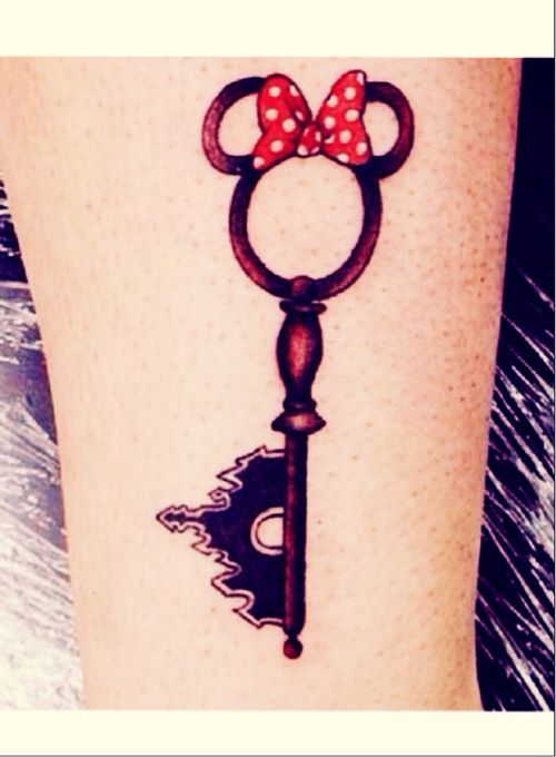 Incredible Disney Tattoos - I'd get this one as Mickey, not Minnie.