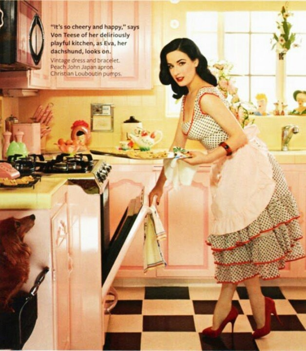 Dita Von Teese may be controversial, but she has class and style. Most of all, she is true to what she loves. A rarity these days.