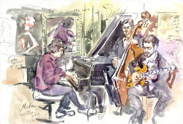 Spike Wilner trio @ Smalls jazz club 2013