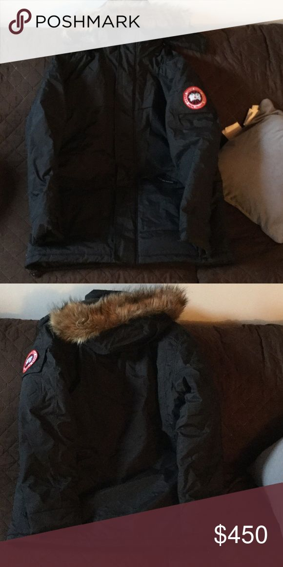 Black Canada Goose Parka Black Canada Goose Parka New unworn but tag fell off Canada Goose Jackets & Coats Ski & Snowboard