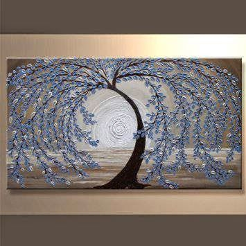 Santin Art - Modern Abstract Ready to Hang Stretched Canvas Oil Painting SAH17 - Store Online for Your Live and Style