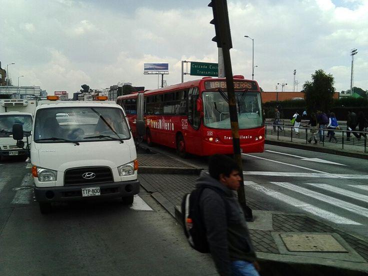 Av Suba con Calle 100