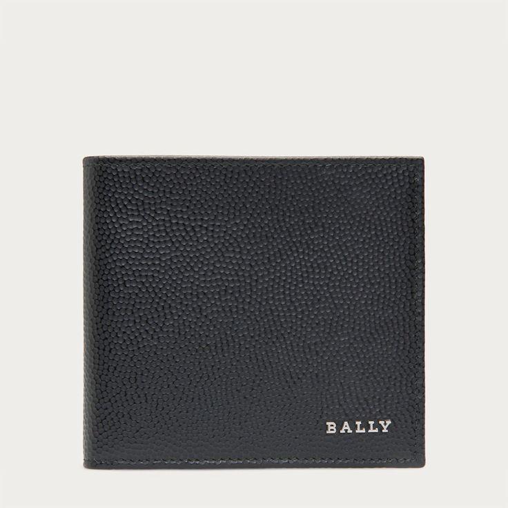 Nyelsen black leather wallet