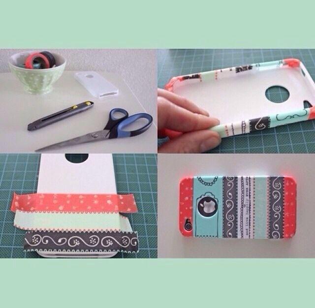 Diy phone case crafts pinterest for Diy mobile phone case
