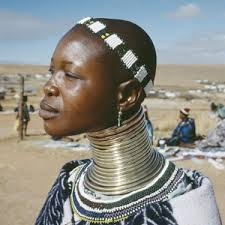 African Neck rings - I love it! | I dream in African ...