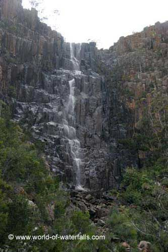 Pelverata Falls  near Huonville, Tasmania, Australia
