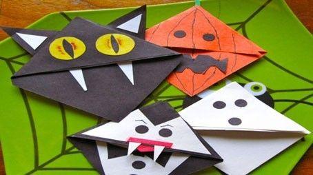 Origami+di+Halloween - Gatto%2C+zucca%2C+topino+fatti+con+gli+origami+