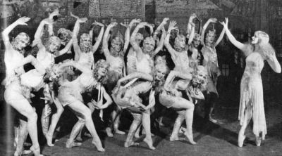 vintagegal:  Ziegfeld Follies- Harriet Hoctor and the Albertina Rasch Dancers in An American in Paris 1929