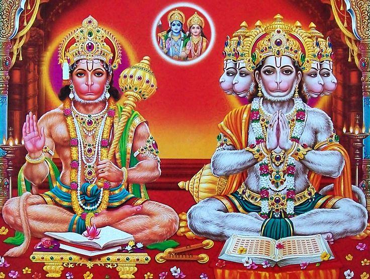 48 best panchmukhi hanuman images images on pinterest hd photos indian gods and hindus - Panchmukhi hanuman image ...