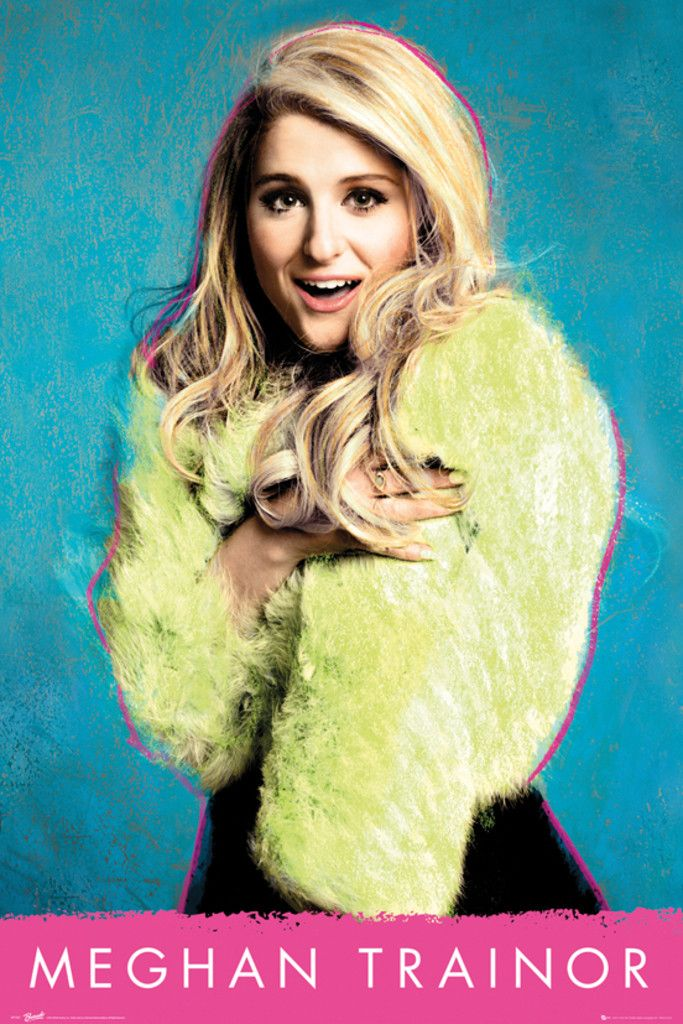 Meghan Trainor Meghan - Official Poster. Official Merchandise. Size: 61cm x 91.5cm. FREE SHIPPING