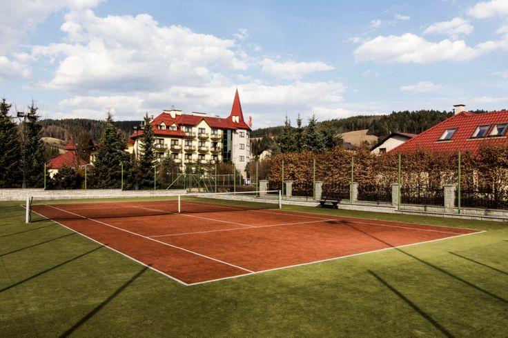 Udanego aktywnego odpoczynku na korcie tenisowym Hotelu Klimek****SPA! http://www.hotelklimek.pl/sport/tenis |  Have an active rest on the tennis court of the Hotel Klimek **** SPA! http://www.hotelklimek.pl/sport/tenis #sport #active #tennis #tenis #activity #relaks #leisure #zdrowie #health