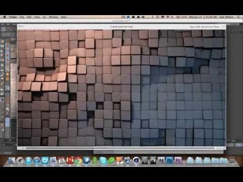Cinema 4D Tutorial - Mograph Cube Ocean - YouTube