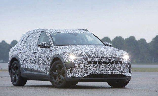 2019 Audi e-tron Quattro electric SUV