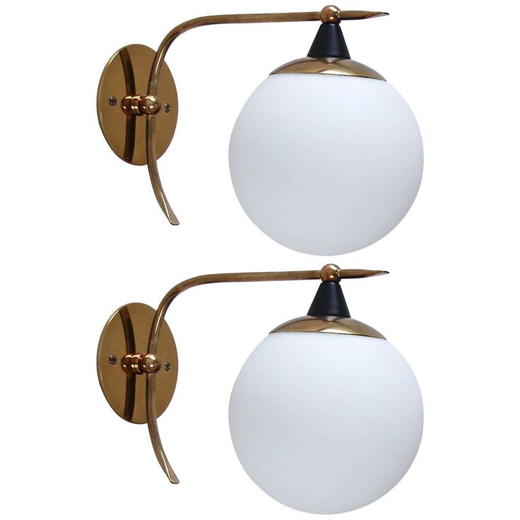 Lovely Globe Italian Sconces, Part Of Antique Wall Sconces U0026 Lighting At Lumfardo.  Lamps And Wall Lighting From Italy, France, Germany, US U0026 More.