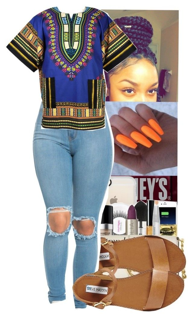 """In Class Bored Asf Ready For Friday"" by jasmine1164 ❤ liked on Polyvore featuring Hershey's, Casetify and Steve Madden"