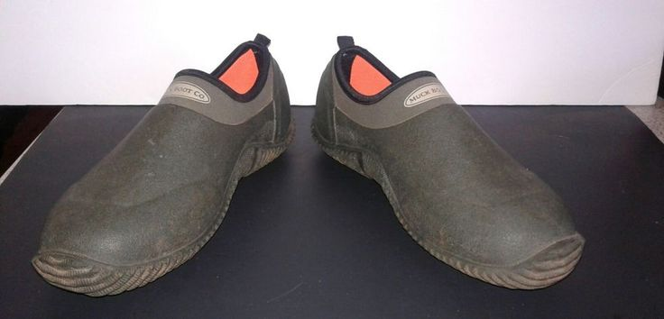 Muck Shoe sz 6mens/7 women's Moss by the Muck Boot Co | Sporting Goods, Hunting, Clothing, Shoes & Accessories | eBay!