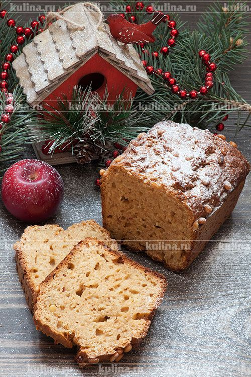 Яблочный хлеб - рецепт с фото