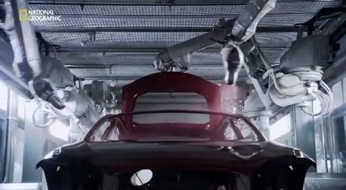Video: A look inside the Tesla factory building Model S from National Geographic Megafactories series (45 minutes)