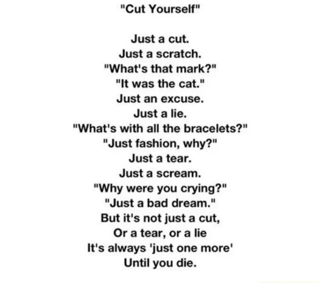 what do you say when cutting a wedding cake self harm poems search self harm poems 27054