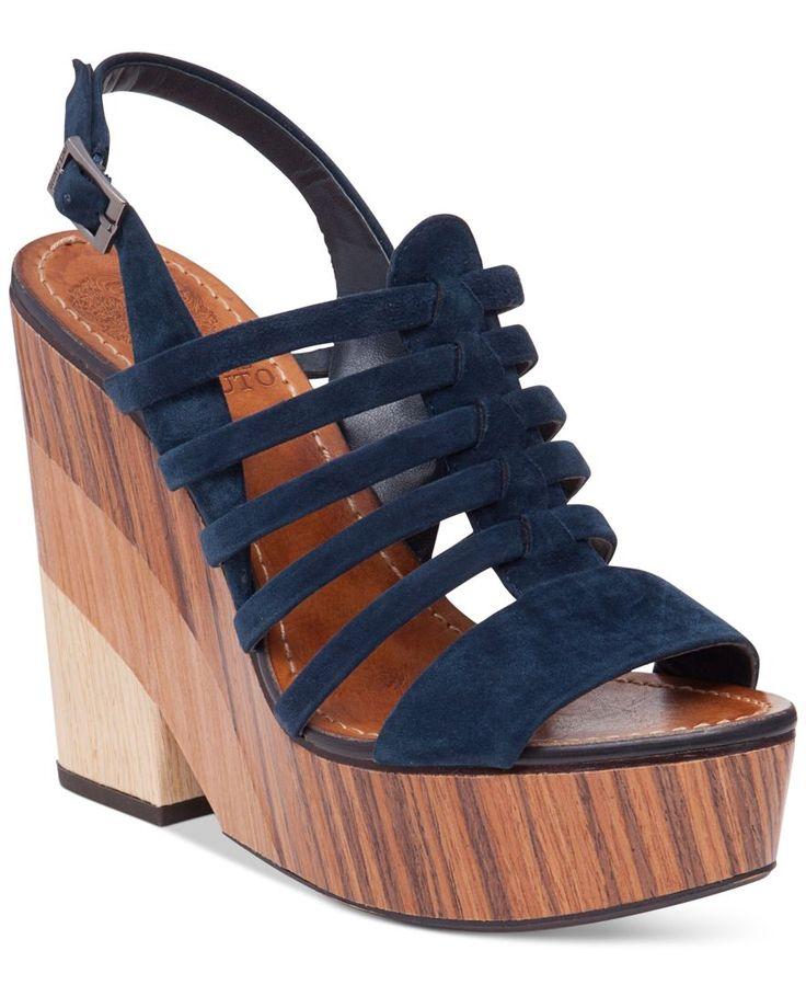 Vince Camuto Onia Platform Wedge Sandals