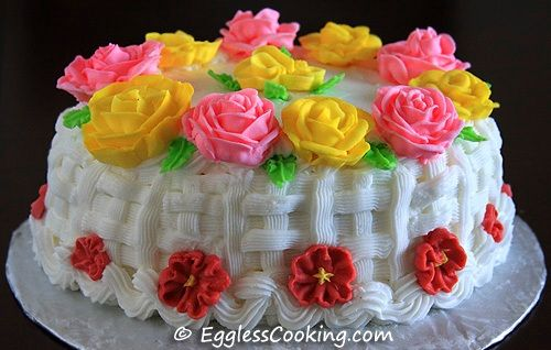 """""""Vegan Barley Flour Chocolate Cake"""" is better  than any other flower cake. So this cake is perfect for birthday party."""