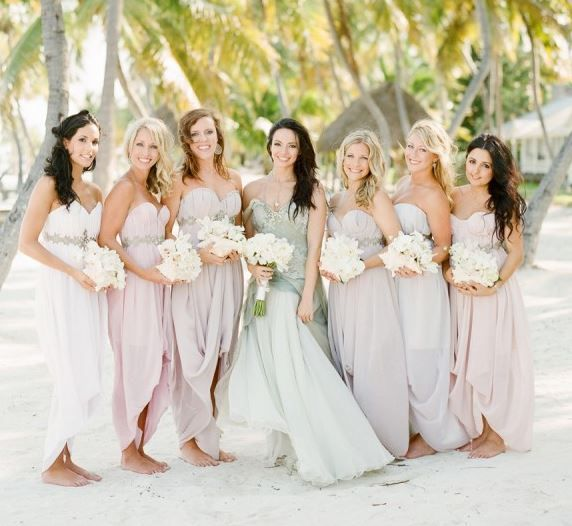 15 Prettiest Pastel Bridesmaid Dresses