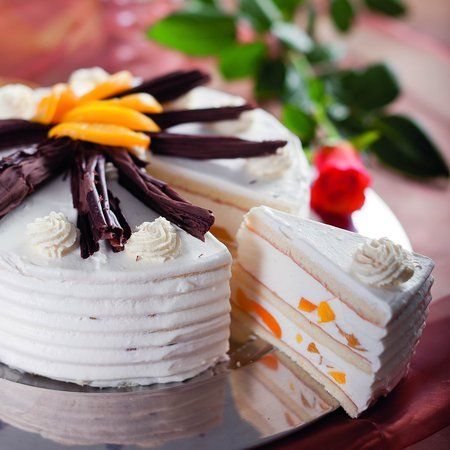 Őszibarackos-joghurtos torta