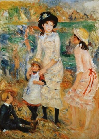 Children on the Seashore, Guernsey by Pierre-auguste Renoirhttp://www.thisisguernsey.net/thisisguernsey/Thisisguernsey.net.html