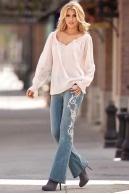 Rose gold embellishment. unfortunatley on mom jeans: Blouseboston Proper, Embellished Jeans, Proper Ros Gold, Boston Proper Dresses, Embellishments Jeans, Boston Proper Lac, Boston Proper Ros, Rose Gold, Gold Embellishments