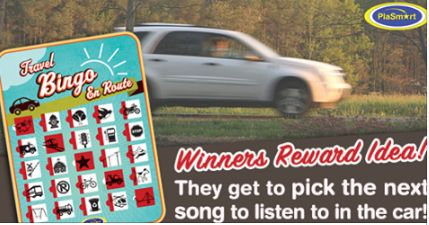"""How clever parents are prepared when they know they might hear """"Are we there yet?""""  Toy, toys, toys for kids, kids toys, toys for boys, toys for girls, bingo, game, games, games for kids, kids games, family time, family, family games, games for families, family game night, game night, game time, road trip games, car games"""