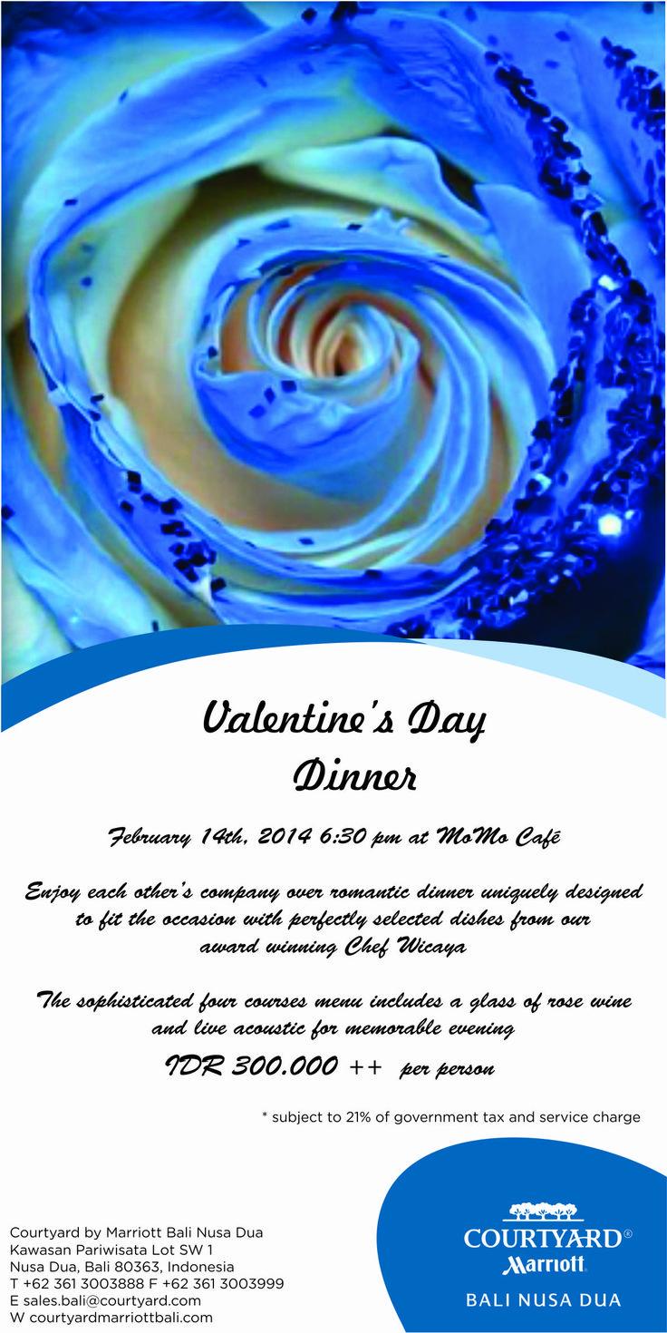 Valentine Dinner at Momo Cafe