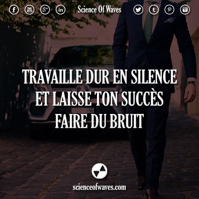 Travaille dur en silence et laisse ton succès faire du bruit.  #motivation…