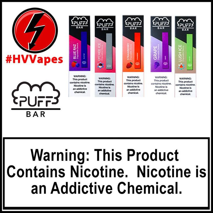 Blue Razz by Puff Bar Disposable Device 50mg (5) 300