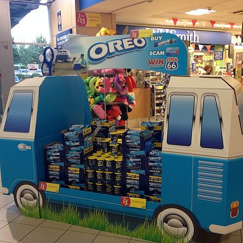 Oreo point of sales display | See my D&T related photos on Flickr