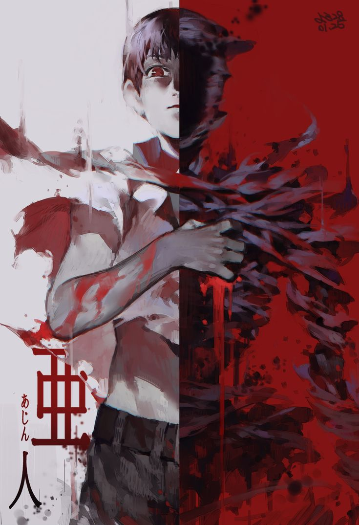 I love how the concept of Ajin resembles Tokyo Ghoul a bit but is still different and has its own flair.