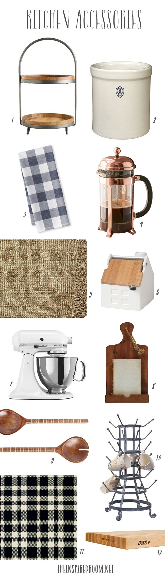 Kitchen Remodel Sources - The Inspired Room