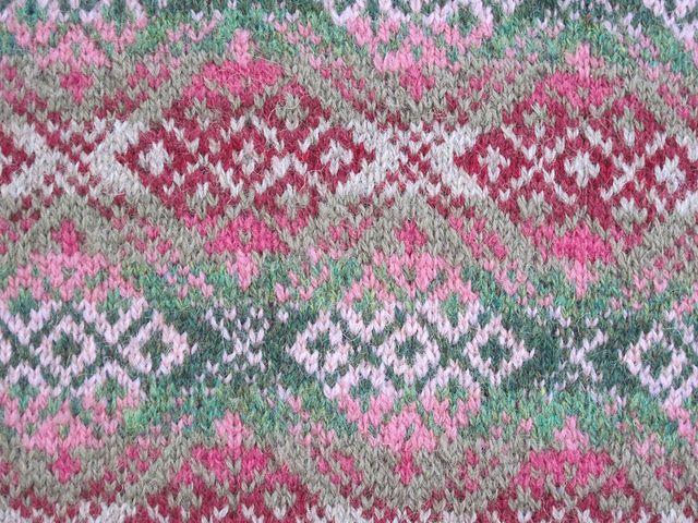 Knitting With Two Colors Meg Swansen : De bedste idéer inden for fair isle strikning på