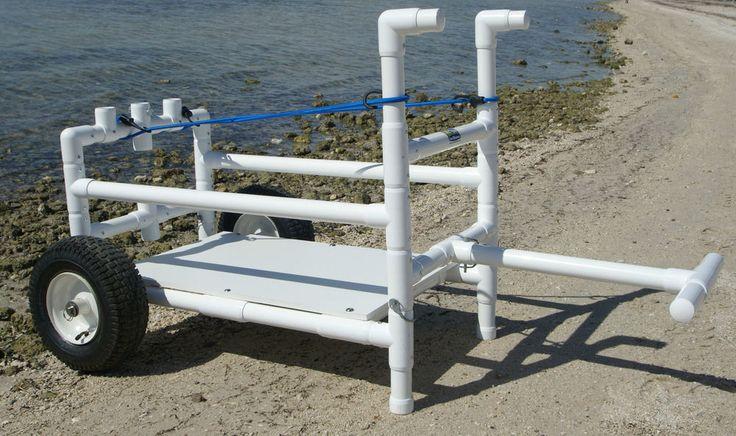 Beach Cart- Heavy Duty- Wide Wheels-PVC #CartMakers