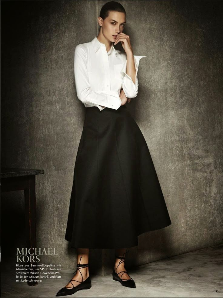 Michael Kors. #Modest doesn't mean frumpy. #DressingWithDignity www.ColleenHammond.com www.TotalimageInstitute.com