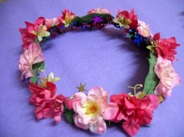 Floral Garland - Hot Pink AUD$29.95