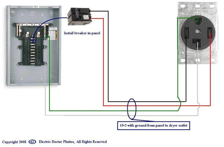 Wiring Diagram For 220 Volt Dryer Outlet   Dryer outlet ...