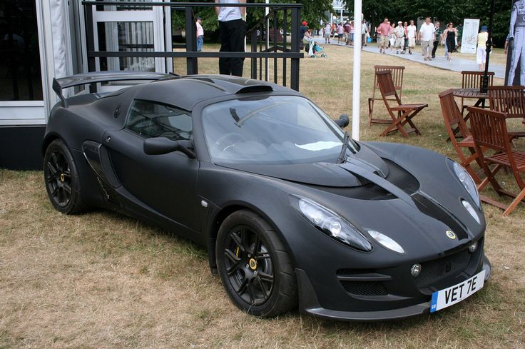 Lotus Exige, we love the flat black look  - for more Lotus inspirations, check out our profile.