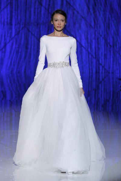 Vestidos de novia manga larga 2017: 60 diseños elegantes y con mucho estilo Image: 43