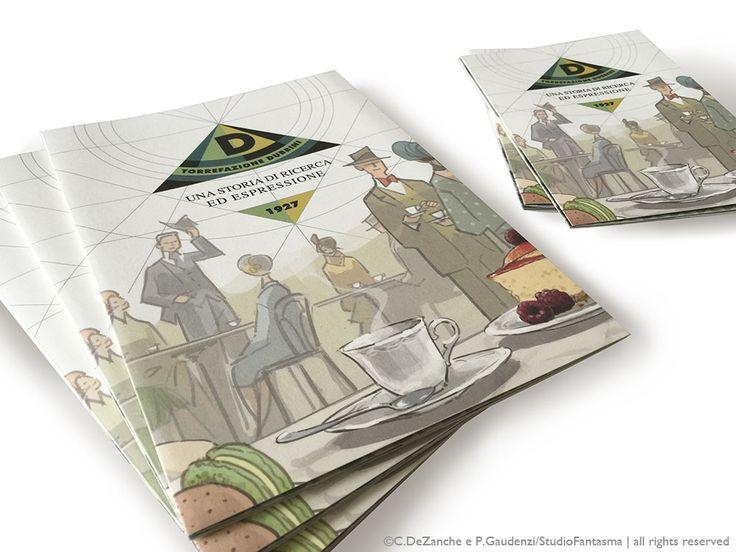 Torrefazione Dubbini - illustrations & graphics for a brochure