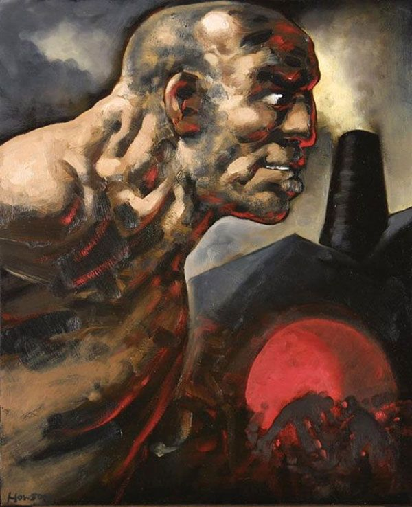 Peter Howson - from the series 'A Life'
