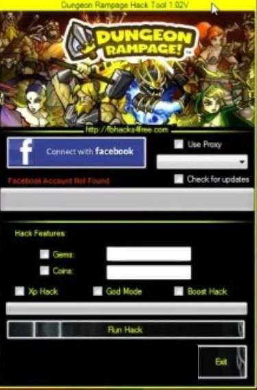You will be able to do all sorts of things, for example you can add unlimited amounts of Coins and Gems with this DungeonRampage Hack.  #dungeonrampagehack #freehacksgames #hacks #games