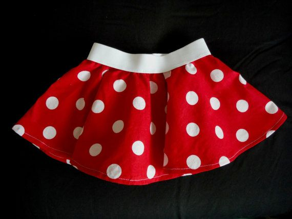 Minnie Mouse Skirt Minnie Mouse outfit Pink by FrederickFancies