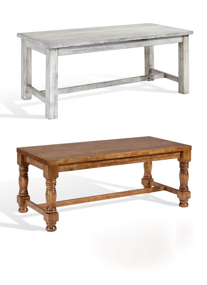 Mesa de madera con pata recta o torneada en varias medidas y acabados a elegir. #mesas #mesadiseño #diseño #mesasmadera #mesamaderabarata #puntogar