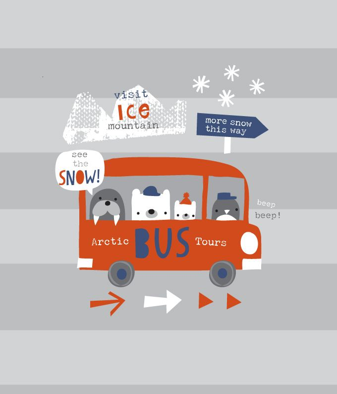 snow bus by lizzie mackay  copyright of lizzie mackay